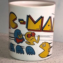 PAC MAN COFFEE MUG COLLECTIBLE MUG 1980 MIDWAY KILN CRAFT STAFFORDSHIRE ... - $22.24