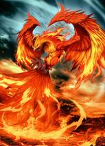 Dragons  Phoenix   2.5 x 3.5 Fridge Magnet - $3.99