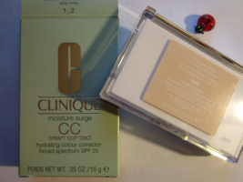CLINIQUE MOISTURE SURGE CC CREAM COMPACT HYDRATING COLOR CORRECTOR SPF25 - $38.00