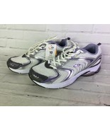 C9 Champion Womens Size 10 Commit White Silver Cushioned Running Shoes Sneakers - $24.74