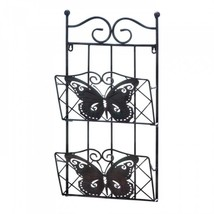 Butterfly 2-tier Magazine Wall Rack - $36.65