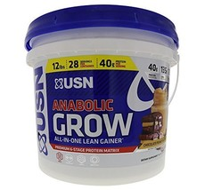 USN Supplements Anabolic Grow All In One Lean Gainer, Chocolate Peanut B... - $51.03