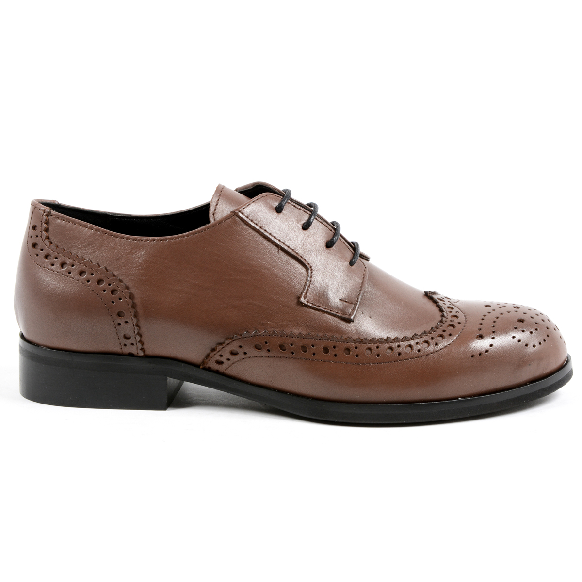 Primary image for V 1969 Italia Womens Lace Up Shoe Brown SULLY