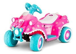 Kid Trax Disney Minnie Mouse Quad 6V Battery-Powered Ride-On Toy - $91.13