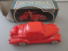 Vintage Avon 1936 Red Ford Aftershave Decanter with Oland aftershave! jc... - $14.84