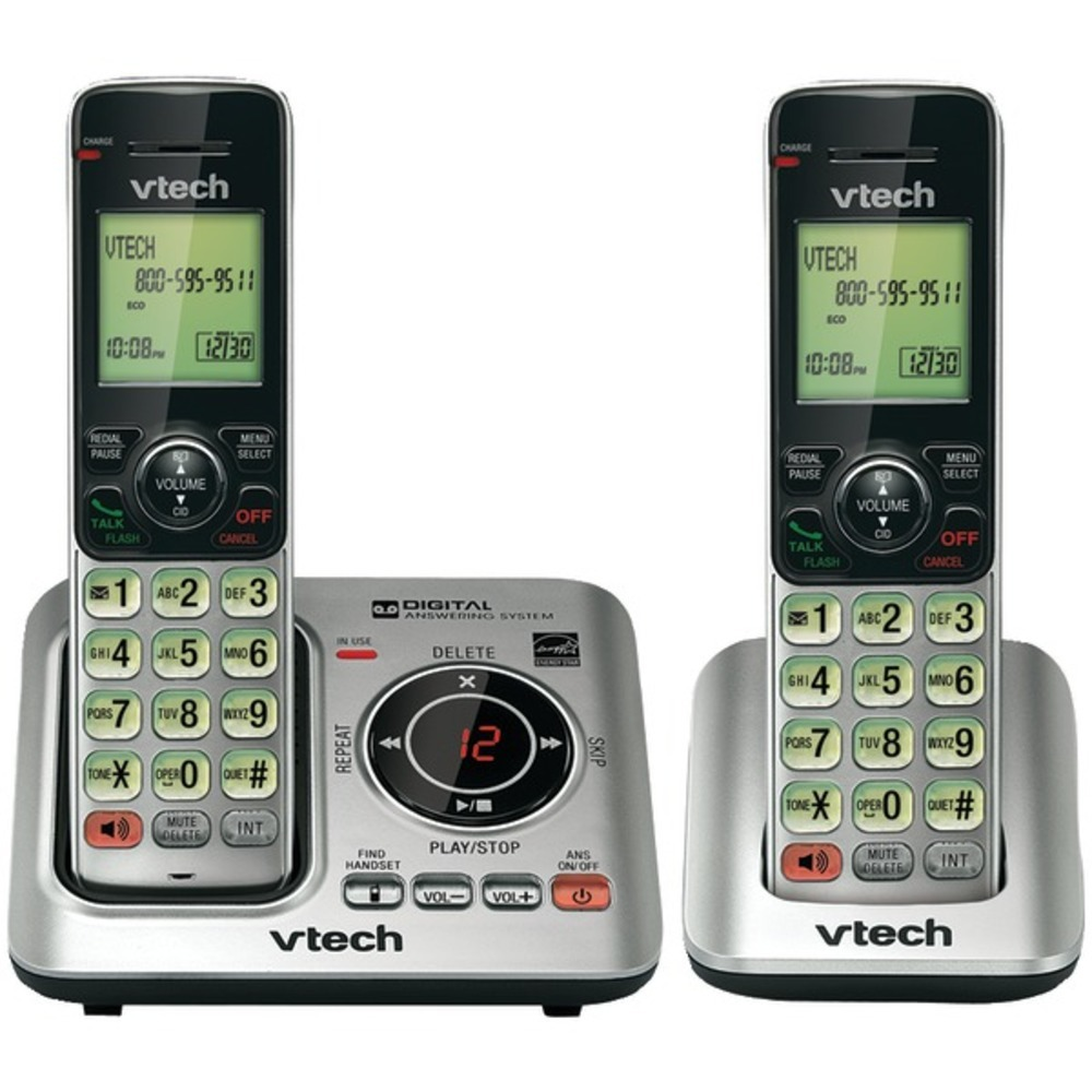 Primary image for VTech VTCS6629-2 DECT 6.0 Expandable Speakerphone with Caller ID (2-Handset Syst