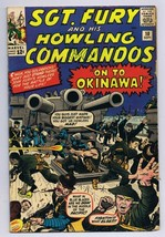 Sgt Fury and His Howling Commandos #10 1964 Marvel Comic Book 1st Captai... - $79.19