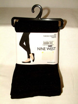 #4142 FLEECED FOOTLESS TIGHTS FROM 9 WEST, SIZE S/M, BLACK, WARM & WONDE... - €10,09 EUR