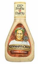 Newman's Own Creamy Caesar Salad Dressing, 16oz, Case of 6 bottles - $38.99
