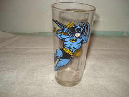 Vintage Batman Super Hero Pepsi Collectors Series glass 1966 - $31.67