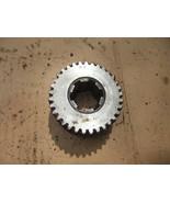"""3  """" inch Gear Industrial Steampunk Repurpose Steel Sprocket Vintage Pulley - $18.49"""