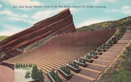 Red Rocks Theatre Park Denver Colorado CO Amphitheatre Postcard B29 - $4.99