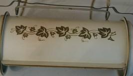 Vintage Mid-Century Bedroom Bed Headboard Light Lamp Beige Gold - $15.83