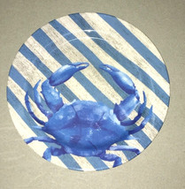 Melamine Blue Crab Plates Bowls 4 sizes YOU CHOOSE Dishwasher Safe Beach... - $439,96 MXN+