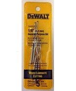 "Dewalt DW6601 1/8"" Wood / Laminate Cutting General Purpose Bits 5 Pack - $5.94"