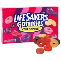 Life Savers Gummies Candy, Wild Berries, 3.5 oz (Pack of 3)  - $12.19