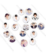 Kpop EXO Badge Baekhyun Chanyeol Sehun Brooch/Pin Gift Chest Pin Badges ... - $0.99