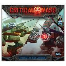Critical Mass Patriot vs Iron Curtain Card Board Game Arcane Wonders AWG... - $37.99