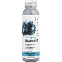 Rusk By Rusk Puremix Activated Charcoal Purifying Conditioner 12 Oz - $25.00