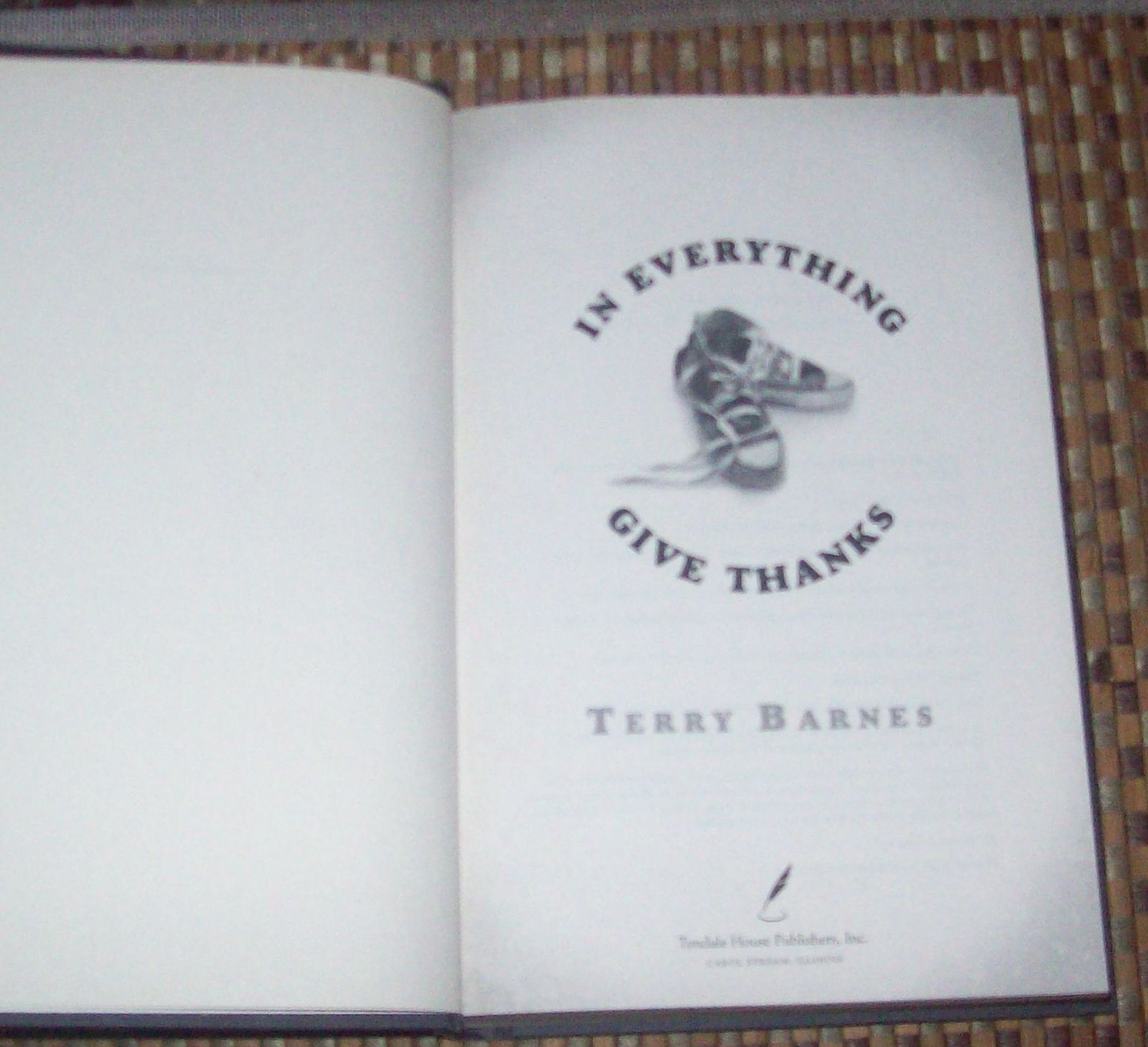 In Everything Give Thanks by Terry Barnes 2007 HBDJ Midwest
