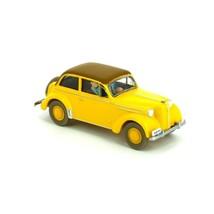 Opel Olympia Convertible King Ottokar'sceptre Tintin cars Editions Atlas 1/43