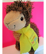 """11"""" Brown LLAMA Plush Toy GIRL SCOUT Cookies 2016 2017 ABC Bakers - $9.71"""