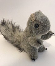 "Folkmanis Mini Squirrel Finger Puppet Plush 5"" Stuffed Teachers Aid Forest - $9.99"
