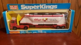 VINTAGE NEW 1980 MATCHBOX TRUCK SUPER KINGS K-3 GRAIN TRANSPORTER KELLOGG'S - $34.65