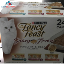 Purina Fancy Feast Gravy Lovers Poultry & Beef Feast Collection Wet Cat ... - $69.99