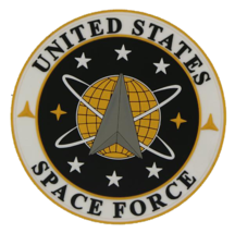 """United States Space Force Shoulder PVC 3.5"""" patch - With Hook and Loop - $15.83"""