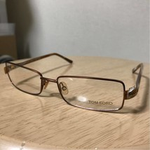 NEW TOM FORD TF5014 217 MATTE LIGHT BROWN EYEGLASSES AUTHENTIC RX FRAMES... - $178.89