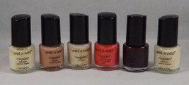 Wet N Wild MegaLast Nail Color Collection Set of 6 -- New - $10.44