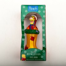 Winnie The Pooh Tigger European Style Glass Christmas Ornament 1997 Disney - $34.15