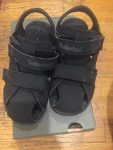 Timberland Black closed toe sandals Sz 13 toddler Or Little boys - $18.65