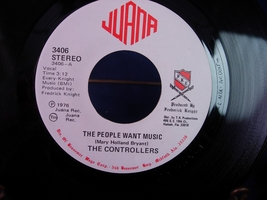 Controllers - The People Want Music / Feeling A Feeling - Juana 3406 - $6.00
