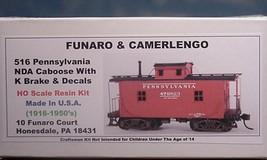 Funaro & Camerlengo HO PRR NDA Caboose w/ K Brake kit 516 image 1