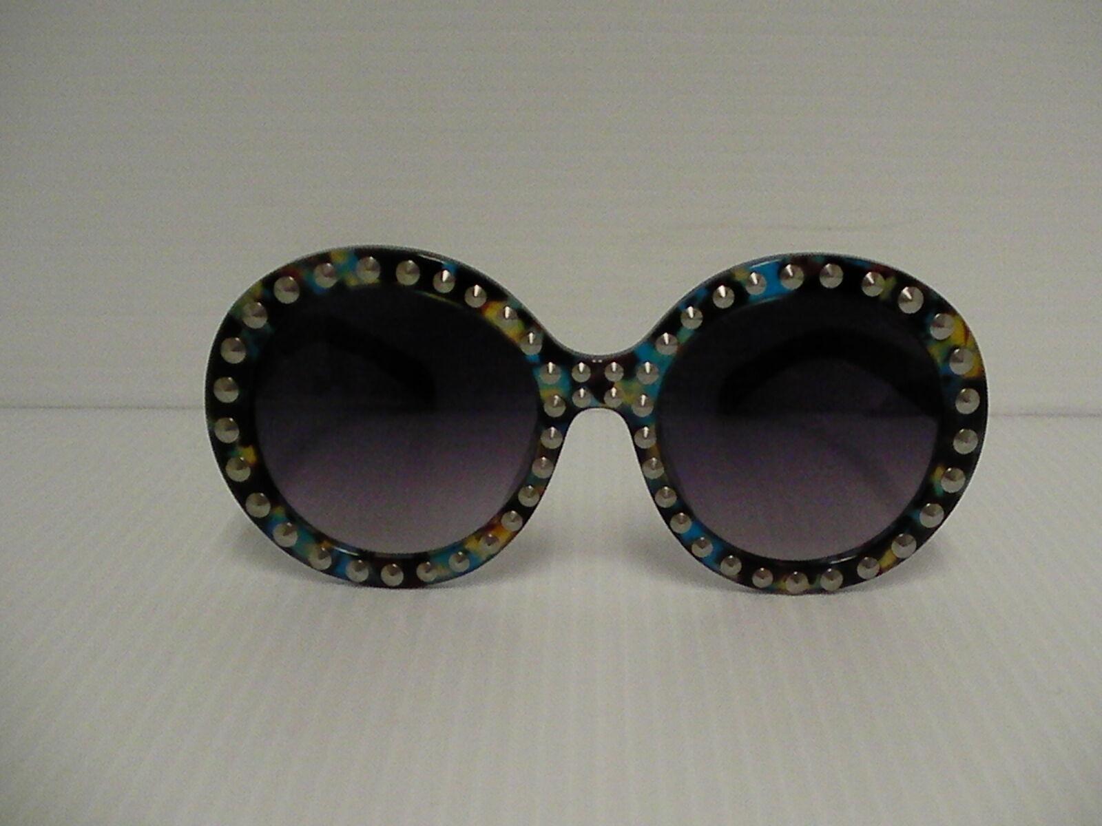 Femmes Prada Lunettes de Soleil Rondes avec Émaillé Style Spr29qsk Tkf-Oa7 image 2