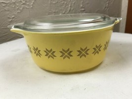 Vintage Pyrex Town & Country Mixing Casserole Bowl Dish With Lid - 1 1/2... - $18.66