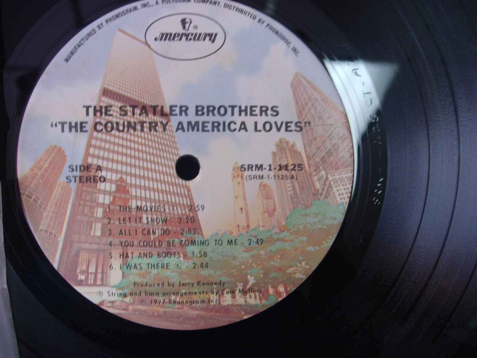 Statler Brothers - The Country America Loves - Mercury SRM 1-1125