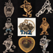 Keychain Taz TASMANIAN Devil LOONEY TUNES Warner Brothers Character Choi... - $13.49