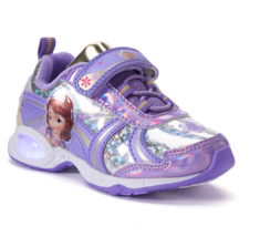 NEW NWT Disney Sofia the First Light Up Baby/Toddler Sneakers Size 5 or 6 - $24.99