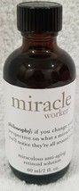 Philosophy MIRACLE WORKER Miraculous Anti-Aging Retinoid Solution 2 oz/6... - $25.73