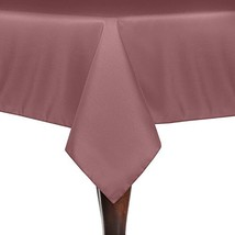 Ultimate Textile -3 Pack- 52 x 52-Inch Square Polyester Linen Tablecloth... - $43.68
