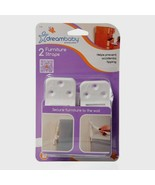 Dreambaby L199A FURNITURE STRAPS Child Safety Earthquake Anti-Tip Secure... - $8.16