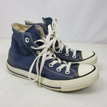Converse All Star Classic Womens Blue High Top Shoes Size 7 Chuck Taylor 102307 - $47.51