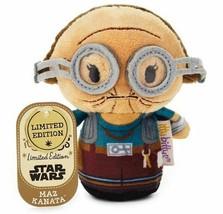 itty bittys Star Wars The Force Awakens Maz Kanata Stuffed Animal NEW NW... - $7.95