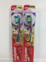 (2) Colgate 11 Soft  Total 360 4 Zone Whole Mouth Clean Manual Toothbrush - $8.51