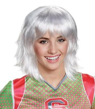 Disney Zombies Disguise Addison Platinum White Child Costume Wig, One Size - $10.40