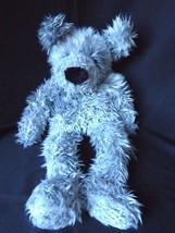 "Ganz Dazzle Dog Plush Gray Furry Stuffed Long Legs Arms 1995 17"" Vintage - $20.53"