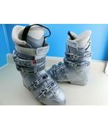 Salomon Ski Boots 25-25.5 Warmfit Charm Ski Walk Silver - $74.24